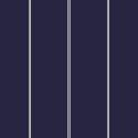 Marineblau feingestreift